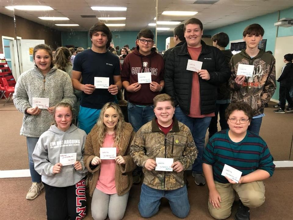 Bible Trivia Winners